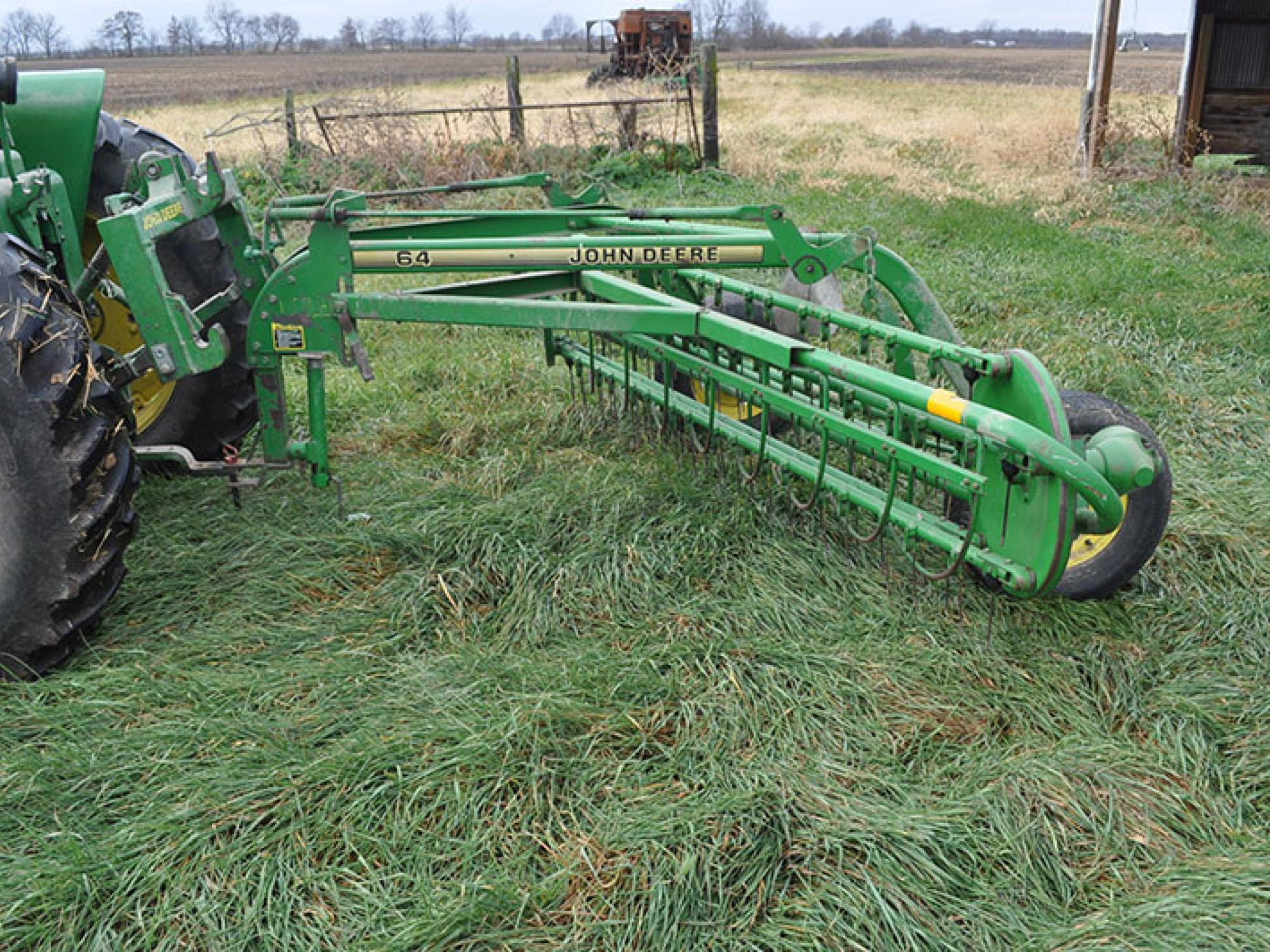 585 Hay Rake Parts : Sommers estate equipment auction the wendt group inc