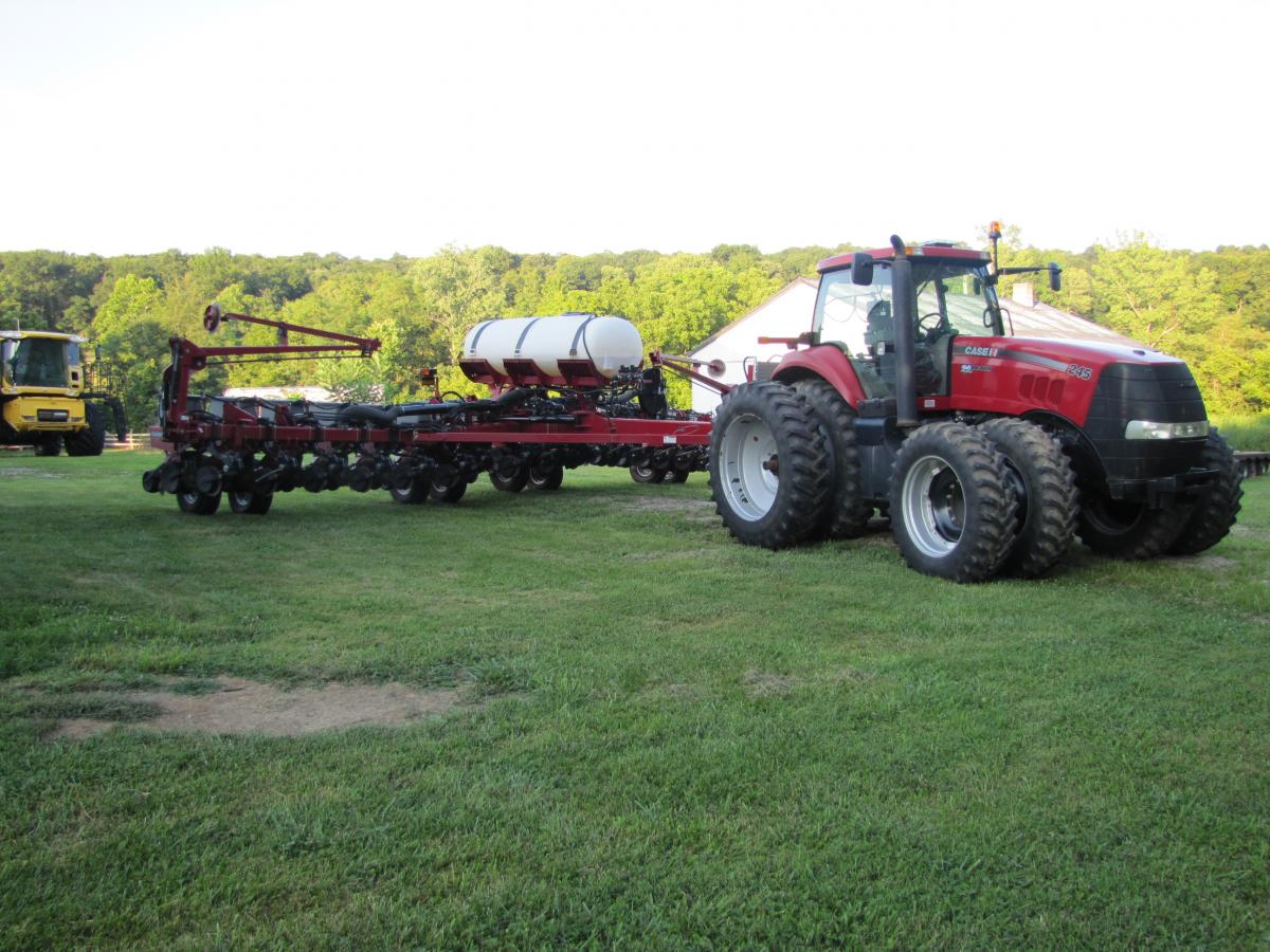 Bill Sever Garman Farms Equipment Auction The Wendt Group Inc